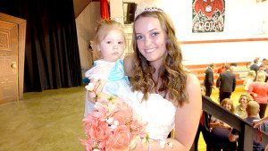 Queen Shelby Beckman and her cousin Kali Toler